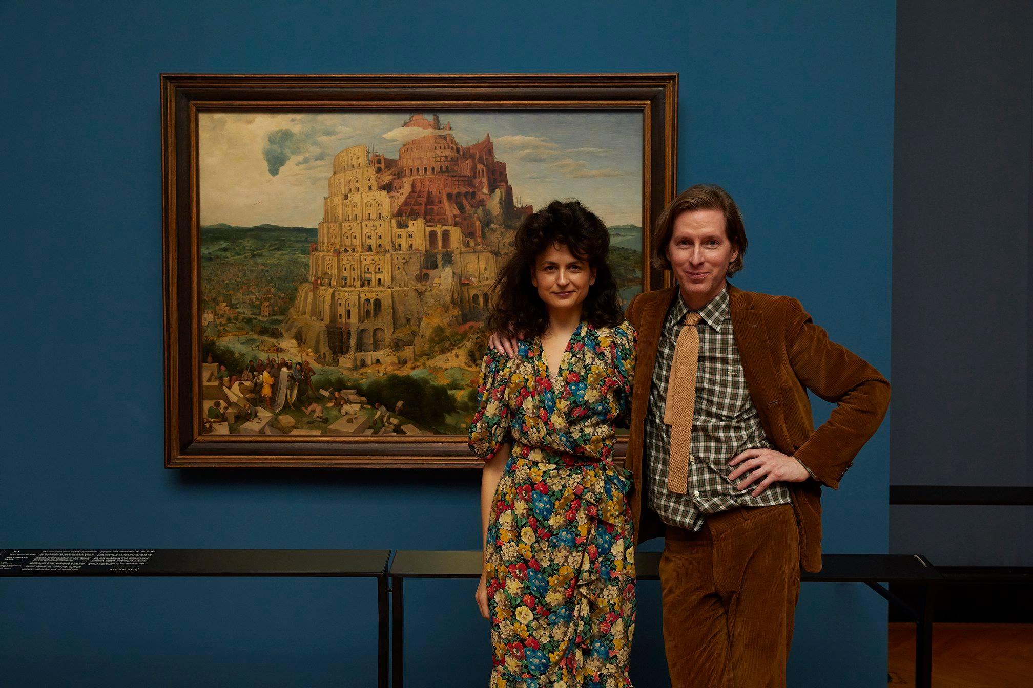 Wes Anderson debuta como curador de una exposición de arte en Viena
