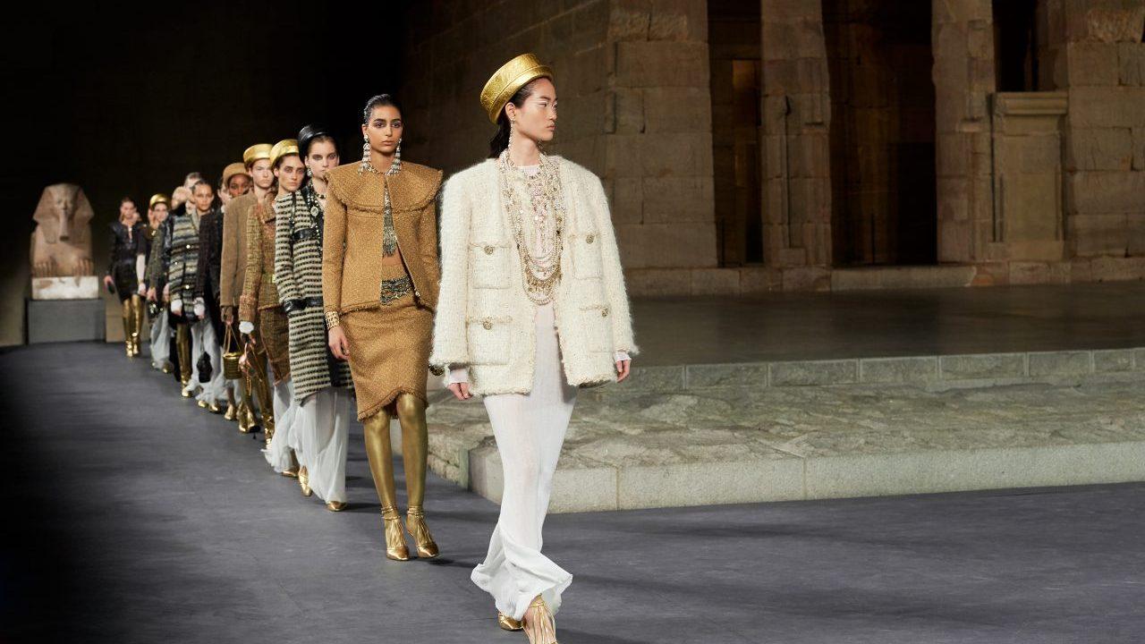 Chanel presenta colección inspirada en Egipto