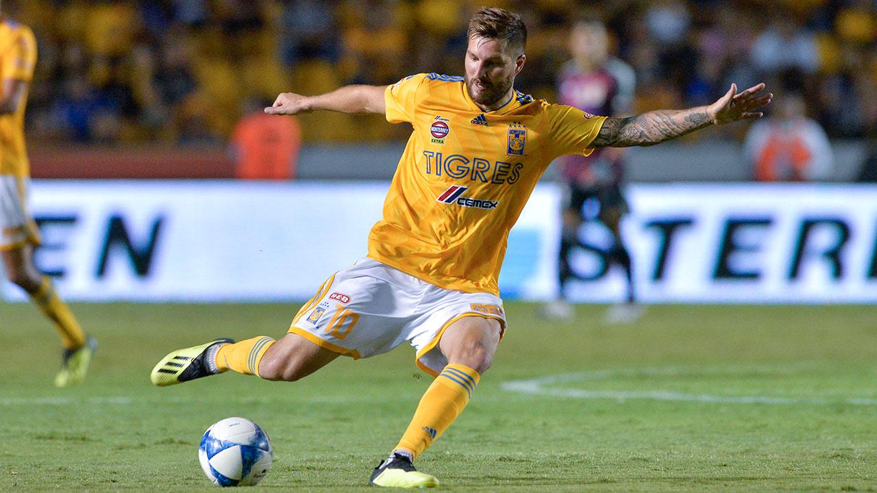 Tigres derrota 1-0 a León en partido de ida de la final del Clausura 2019