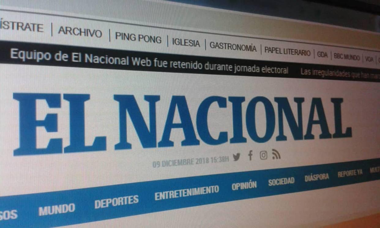 Periódico venezolano deja de circular por falta de papel