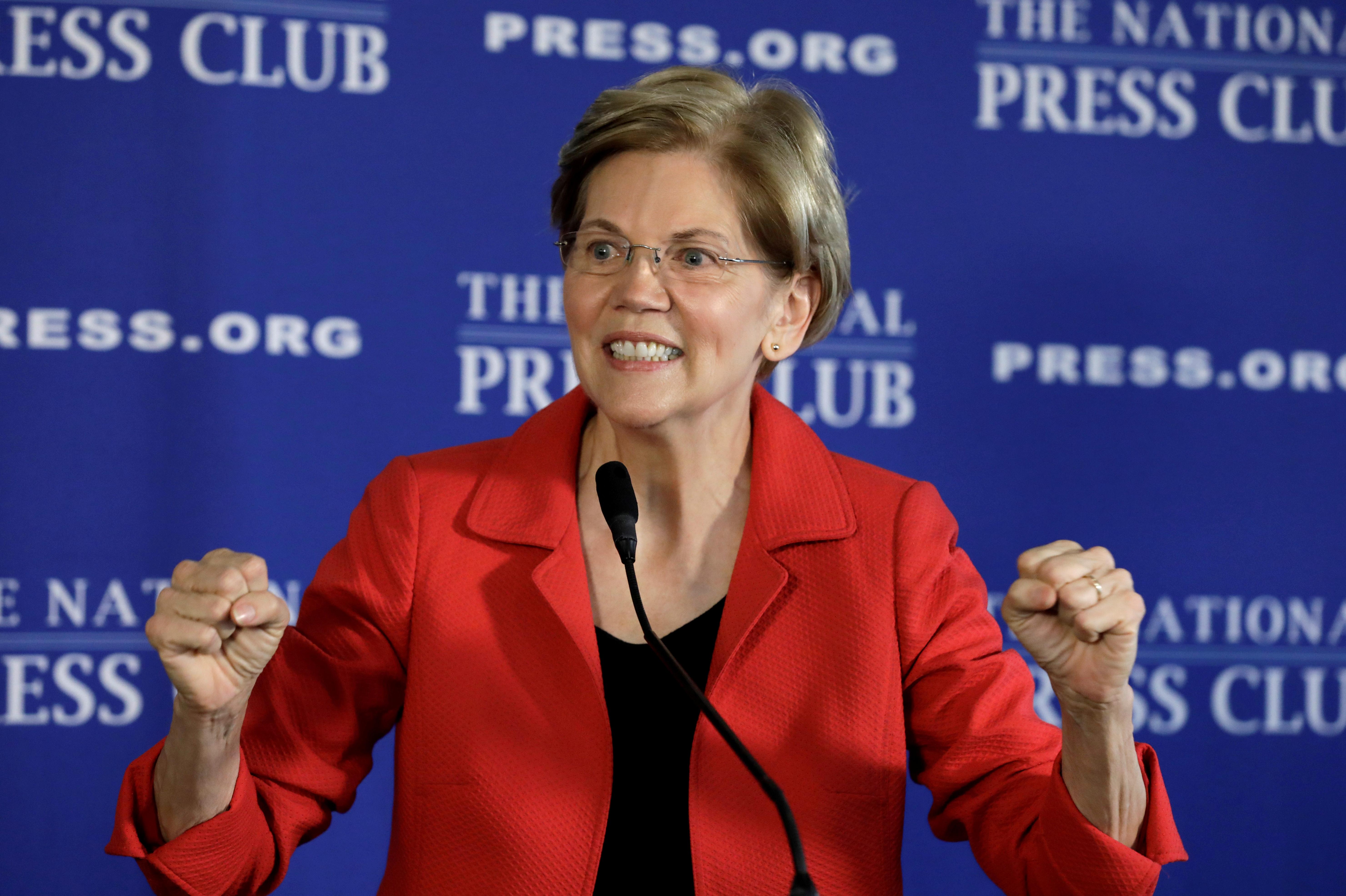 Ella es la senadora demócrata que buscará presidencia de EU en 2020