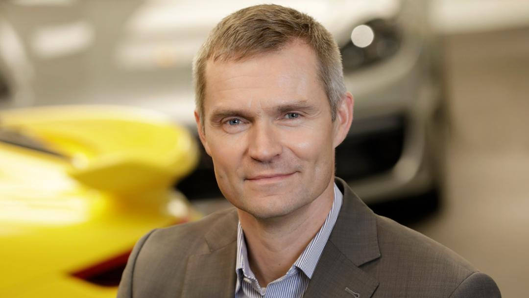Daniel Schukraft, vicepresidente de servicio posventa Porsche AG. Foto Porsche Newsroom.