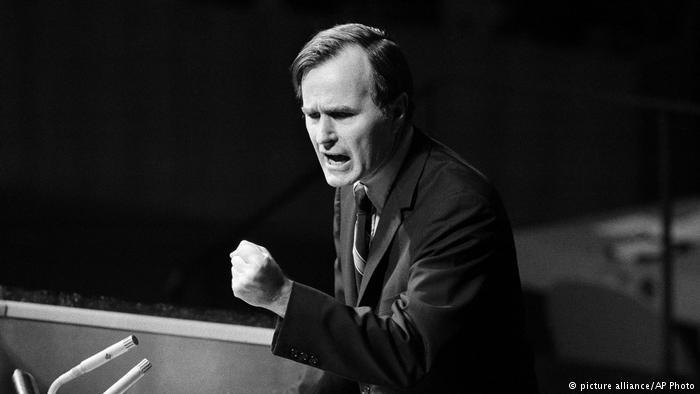 Líderes mundiales homenajean a George H.W. Bush