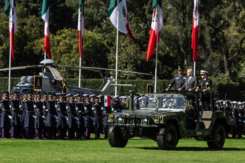 AMLO reitera necesidad de Fuerzas Armadas para la seguridad