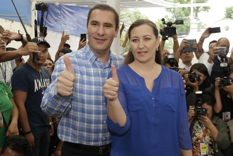 Mueren gobernadora de Puebla y Moreno Valle en accidente aéreo