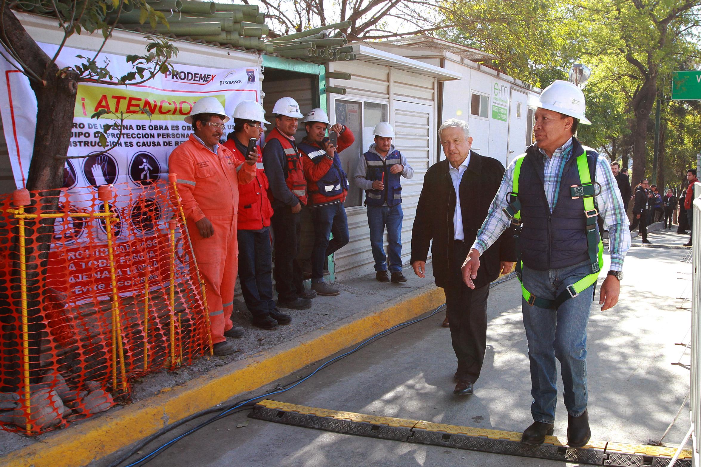 Gobierno promete continuidad en proyectos de infraestructura