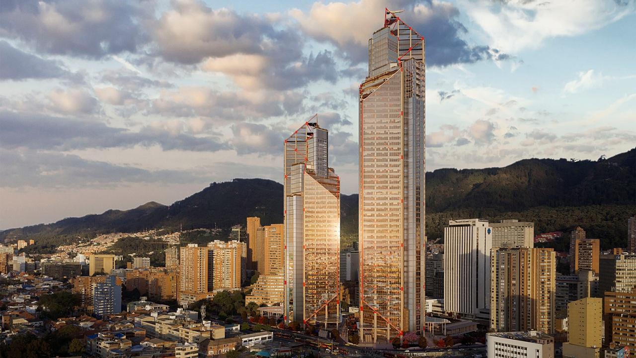 Atrio, el rascacielos que cambiará el rostro a Bogotá