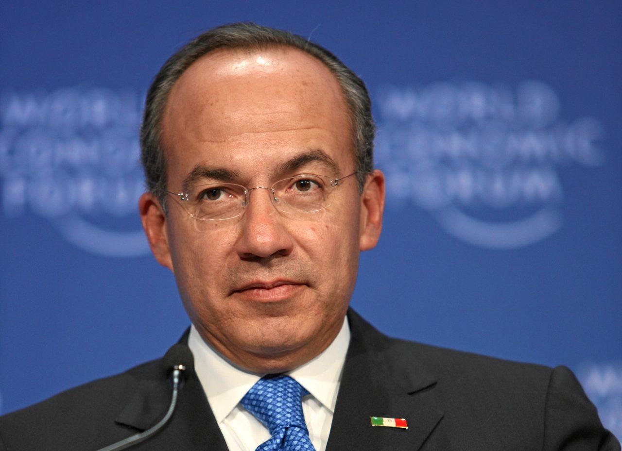 Felipe Calderón pide dinero a la ciudadanía para su partido 'México Libre'