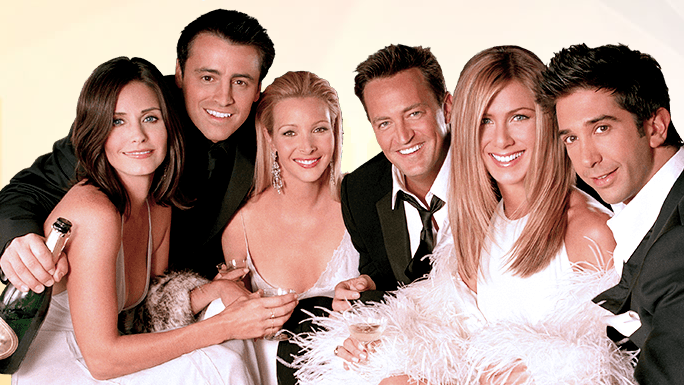 Celebra los 25 años de 'Friends' en Las Vegas