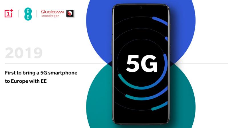 OnePlus y Qualcomm lanzarán un smartphone para la red 5G