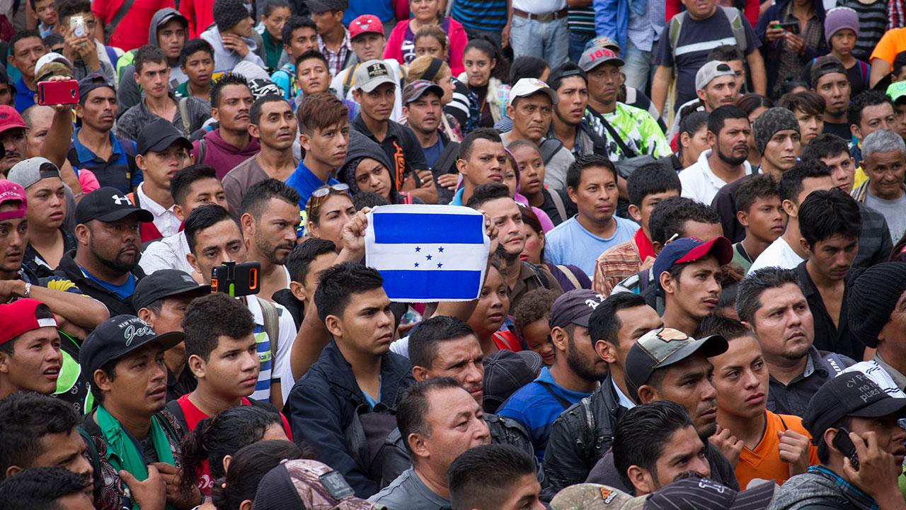 1,700 centroamericanos cruzan México para llegar a EU