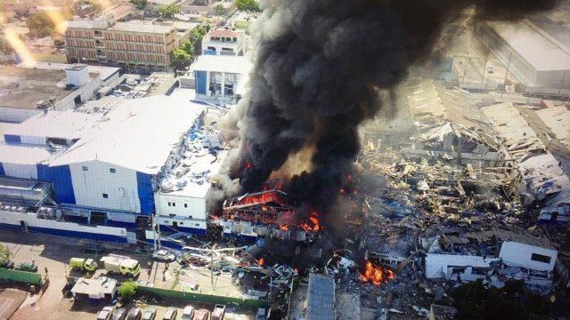 3 muertos y 40 heridos en exploción de fábrica