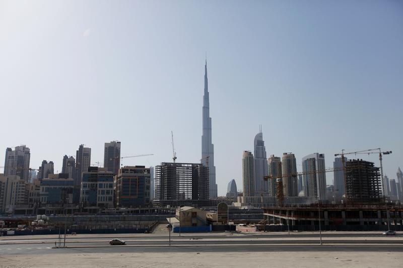 En 2012 numerosas e incipientes construcciones auguraban el Dubai de hoy día. Foto Reuters.