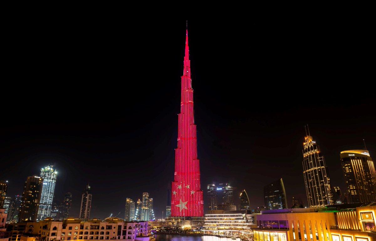 Así reciben la Navidad en Dubai. Foto Dubai Media Office.