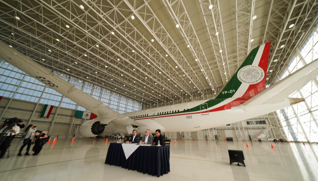 Es oficial, este lunes se pone en venta avión presidencial