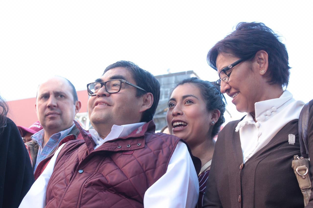 Barbosa buscará otra vez gubernatura de Puebla, dice Morena