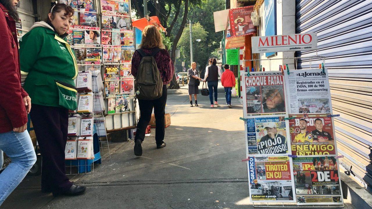 Los países más peligrosos para ser periodista en 2018