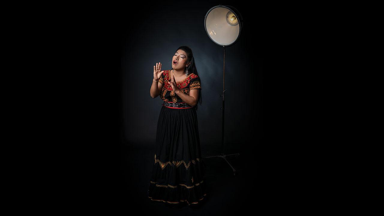María Reyna: emperatriz de la ópera con sensibilidad indígena