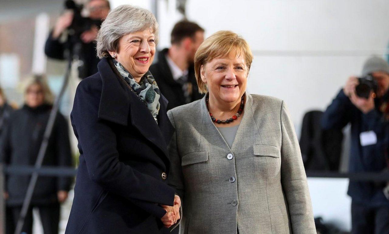 Merkel promete trabajar duro para un nuevo acuerdo sobre el Brexit