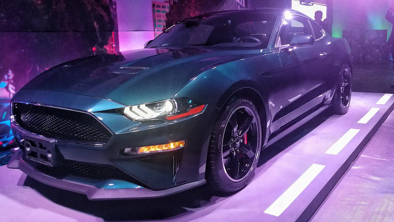 Ford lanza una edición especial del Mustang Bullitt