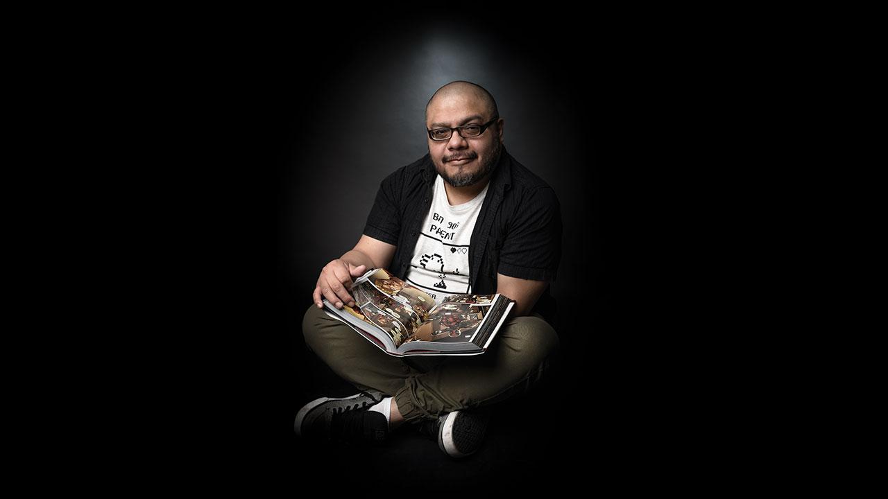 Paco Medina: dibujante de cómics y autodidacta es uno de los más creativos