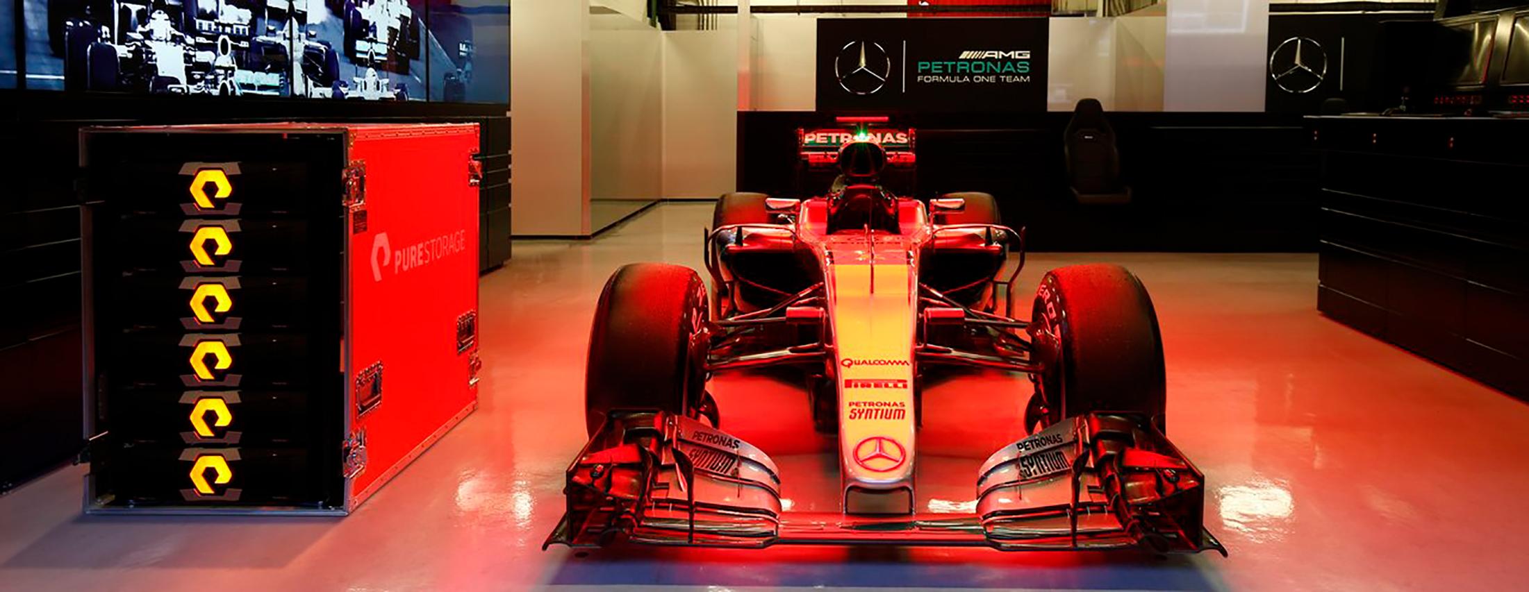 Pure Storage y Mercedes AMG: una alianza a la máxima velocidad