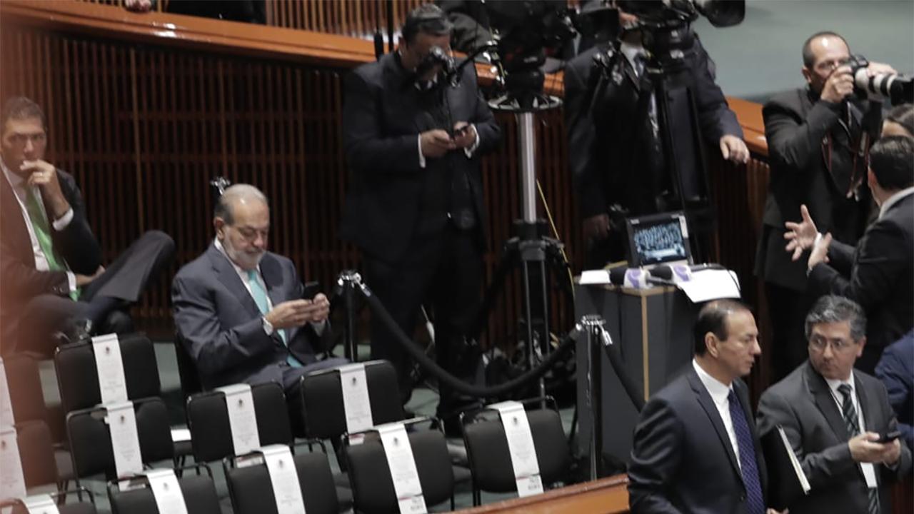 Este es el primer mensaje de Slim a López Obrador como presidente