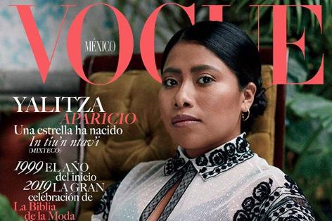 Yalitza Aparicio, de Roma a la portada de Vogue