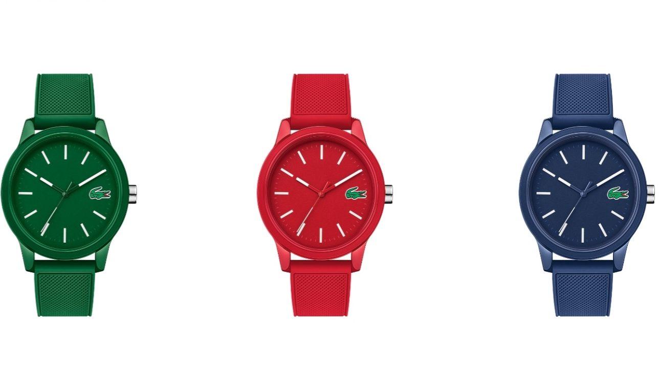 Lacoste lanza línea de relojes inspirada en su camisa polo
