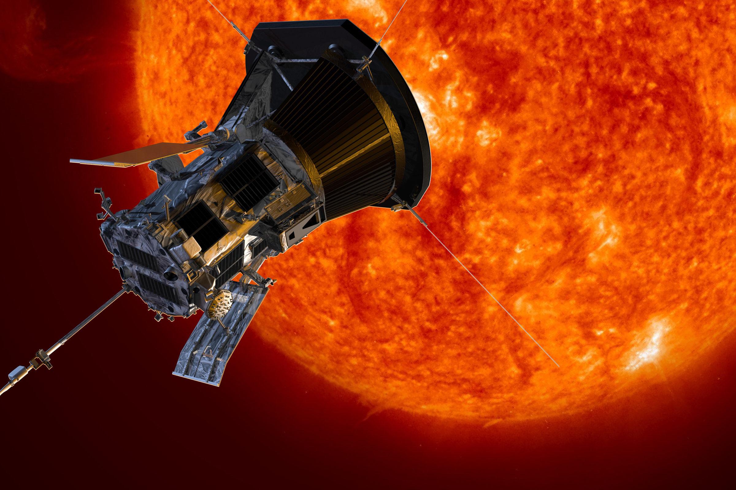 Esta es la primera imagen tomada desde la atmósfera del Sol