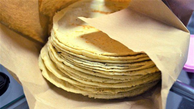 tortillas maíz