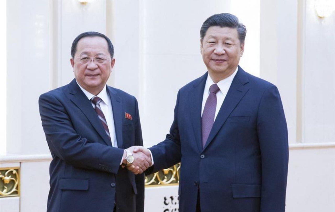 Presidente chino insta a Norcorea y EU a avanzar en la desnuclearización