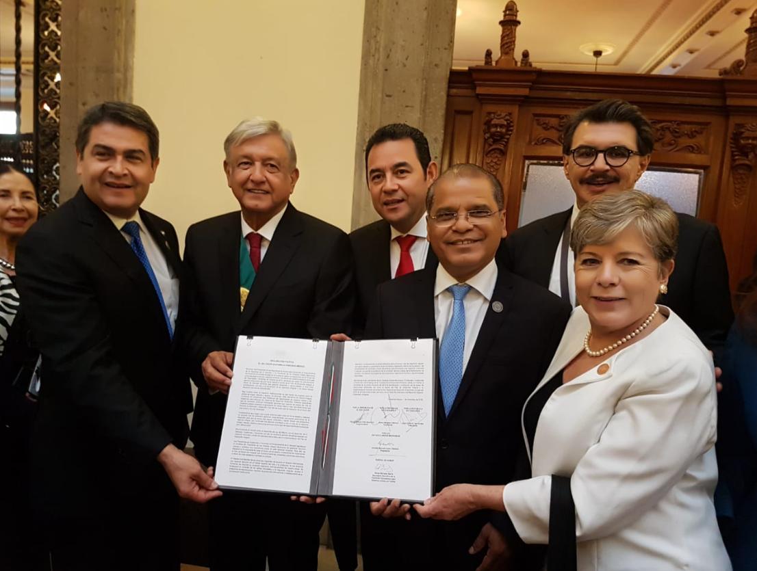 México, Honduras, El Salvador y Guatemala acuerdan plan para prevenir migración