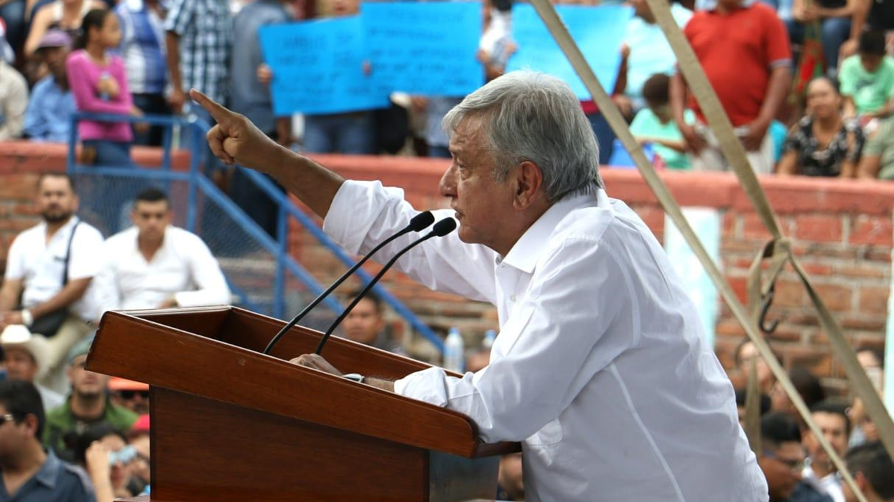 López Obrador descarta bajar expectativas de su gobierno