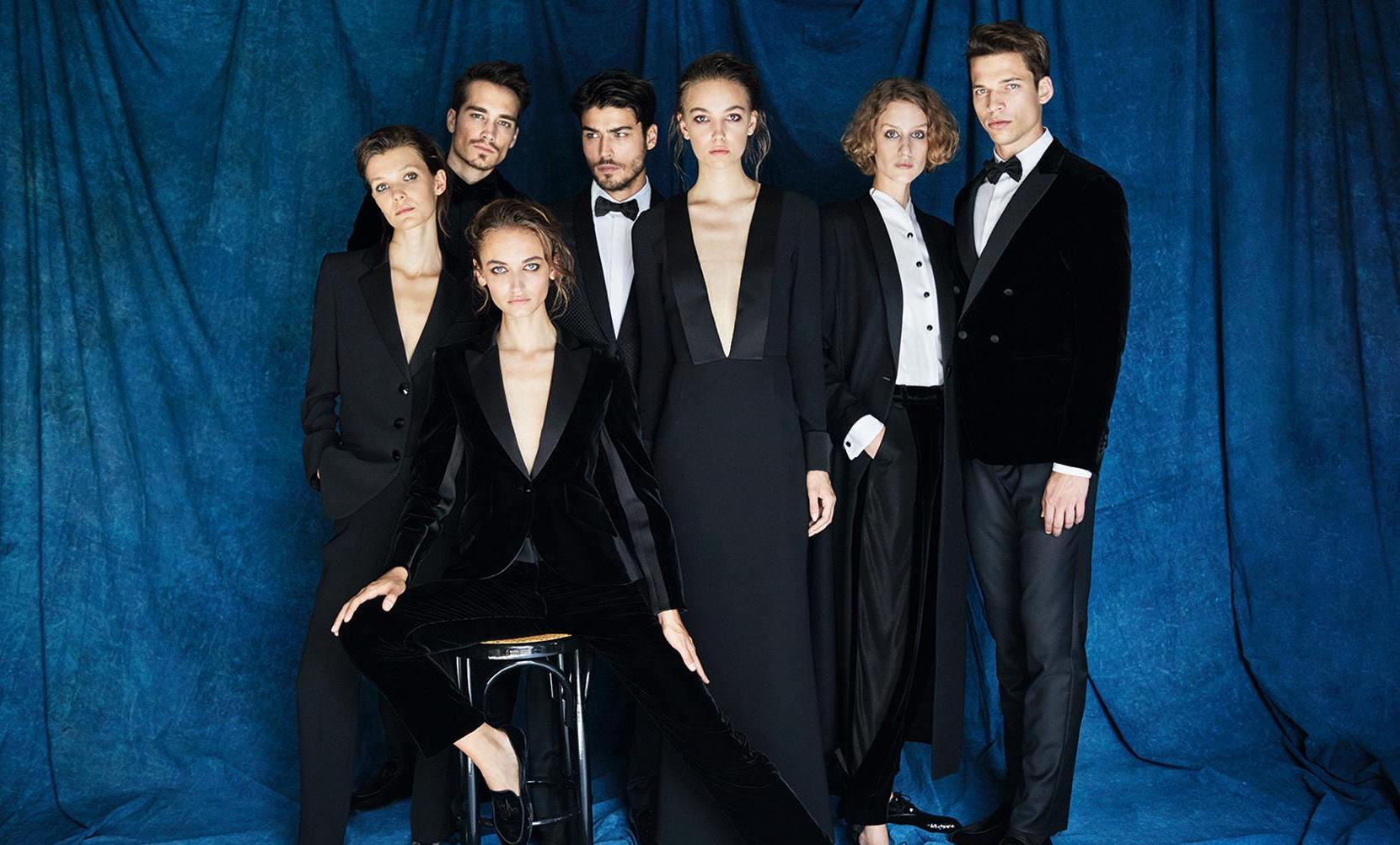 Armani reinventa el esmoquin en su nueva colección cápsula