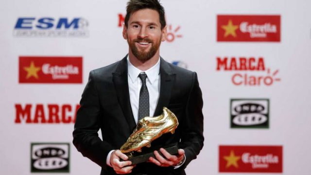 Messi reloj Bota de Oro
