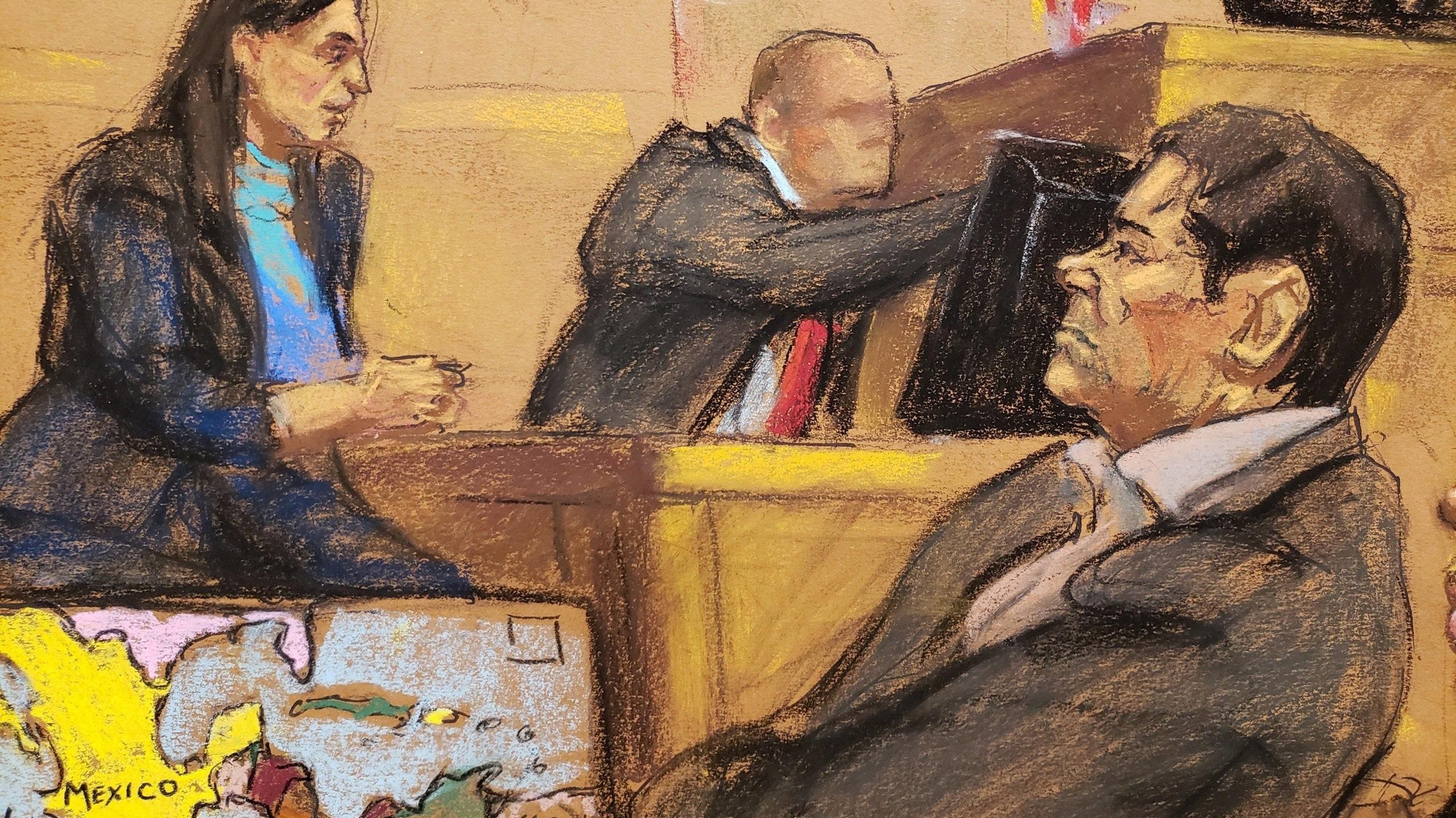 Abogados de 'El Chapo' se toman sólo media hora para defenderlo