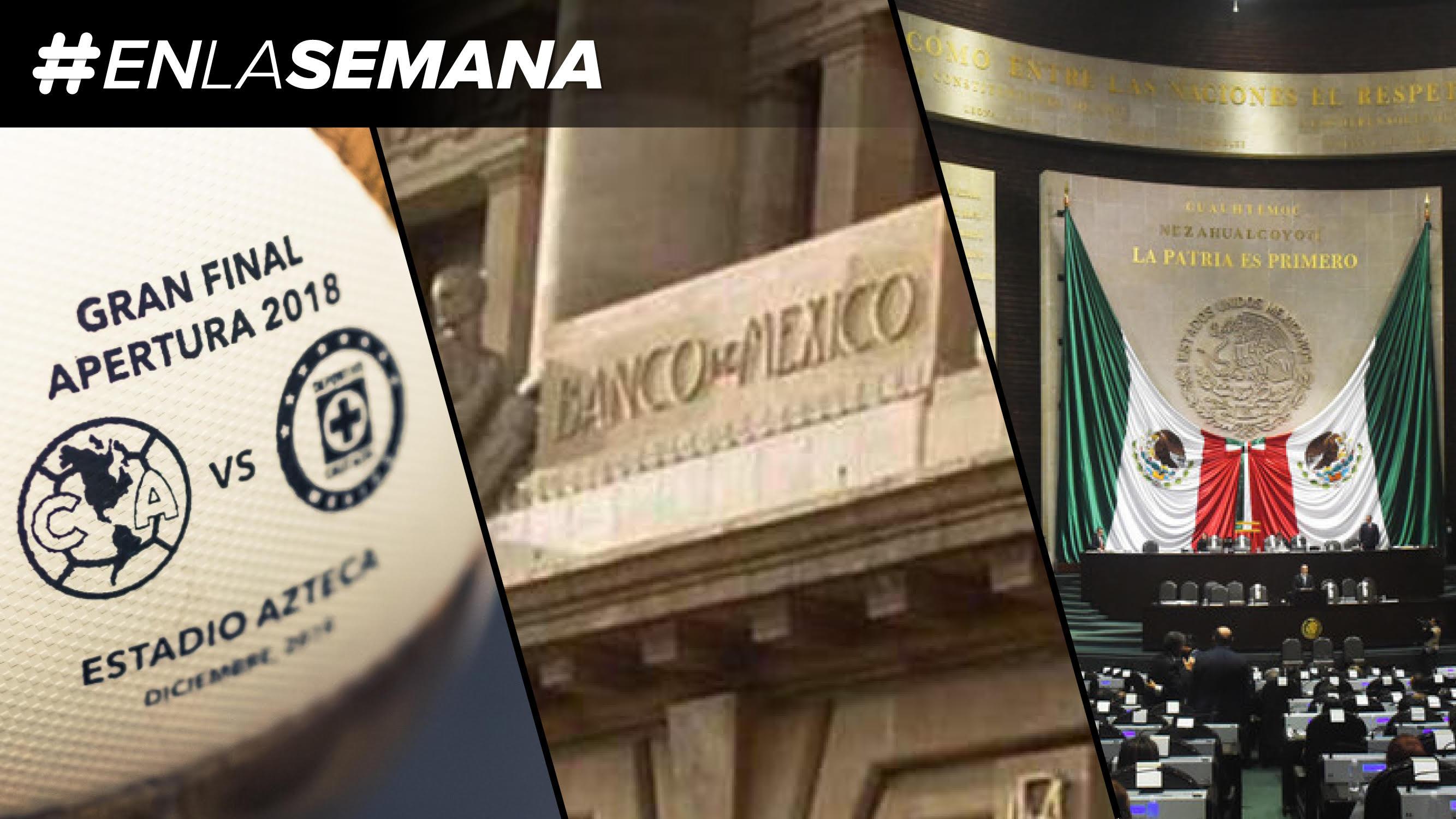 Agenda Forbes | México tiene nuevo campeón; y Banxico decide sobre la tasa de interés