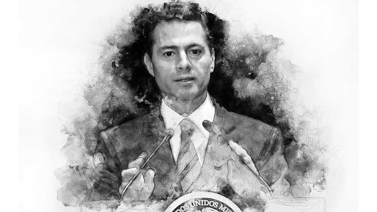 Enrique Peña Nieto, la imagen del presidente que se diluyó