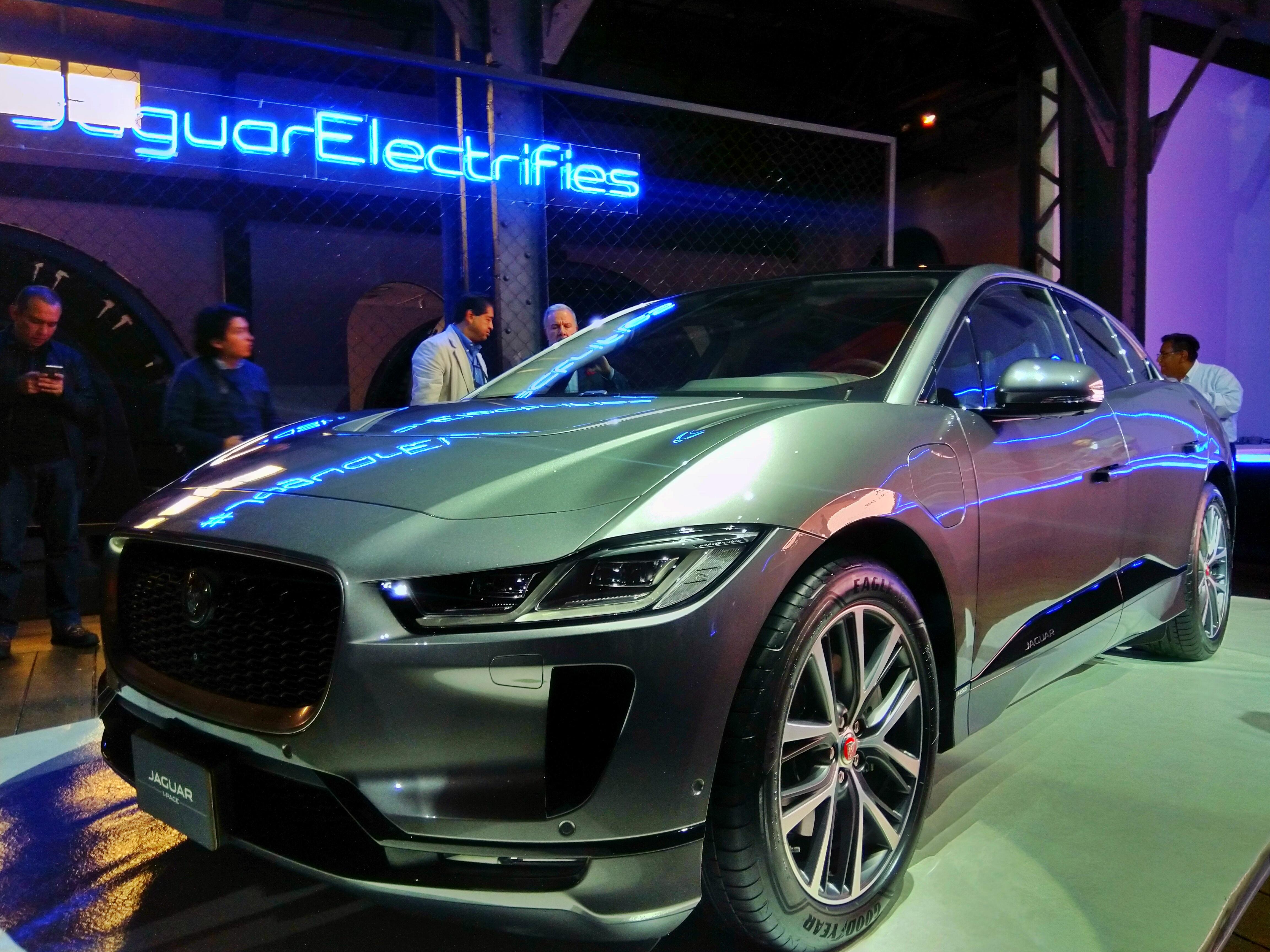 I-PACE, el primer auto 100% eléctrico de Jaguar llega a México