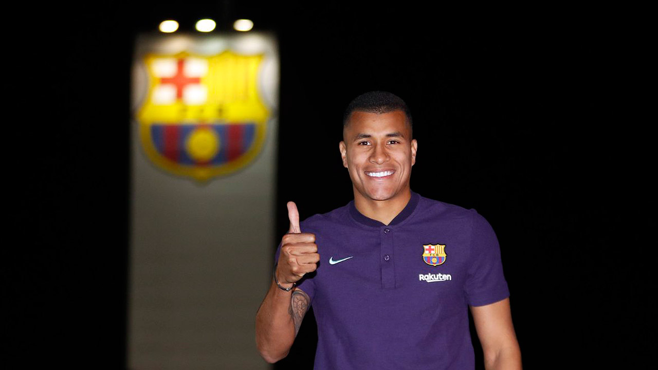 Barcelona integra a sus filas al defensa colombiano Jeison Murillo
