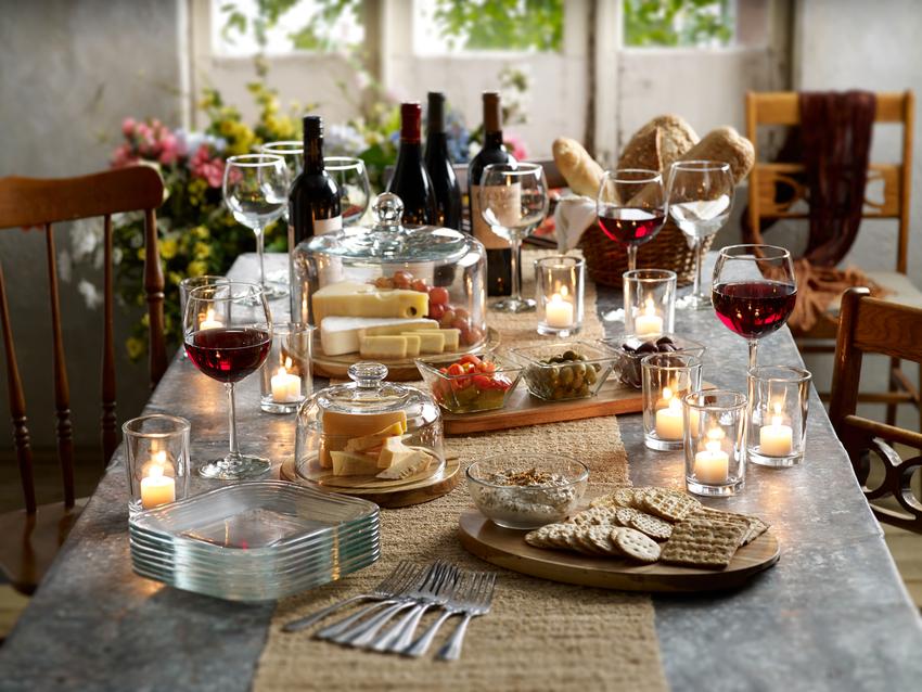 Cristalería, los esenciales en la mesa de Año Nuevo