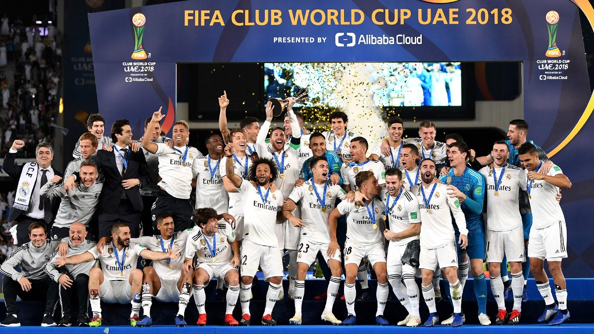 Real Madrid logra tricampeonato en Mundial de Clubes