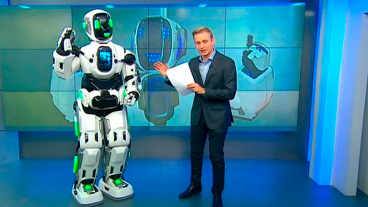 Robot de 'alta tecnología' ruso resultó ser un humano disfrazado