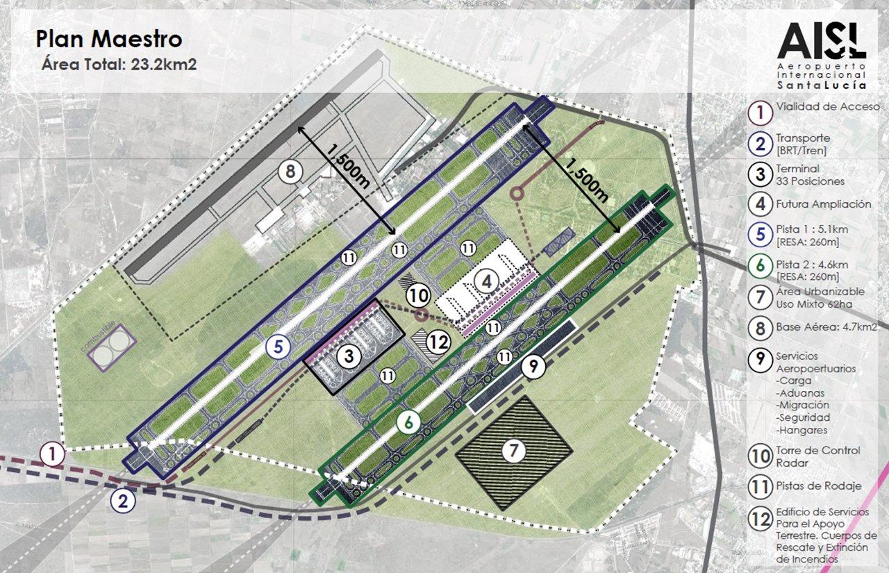 Proyecto del aeropuerto en Santa Lucía se presentará la próxima semana