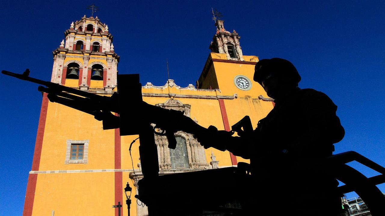 El problema de la militarización, un grave error