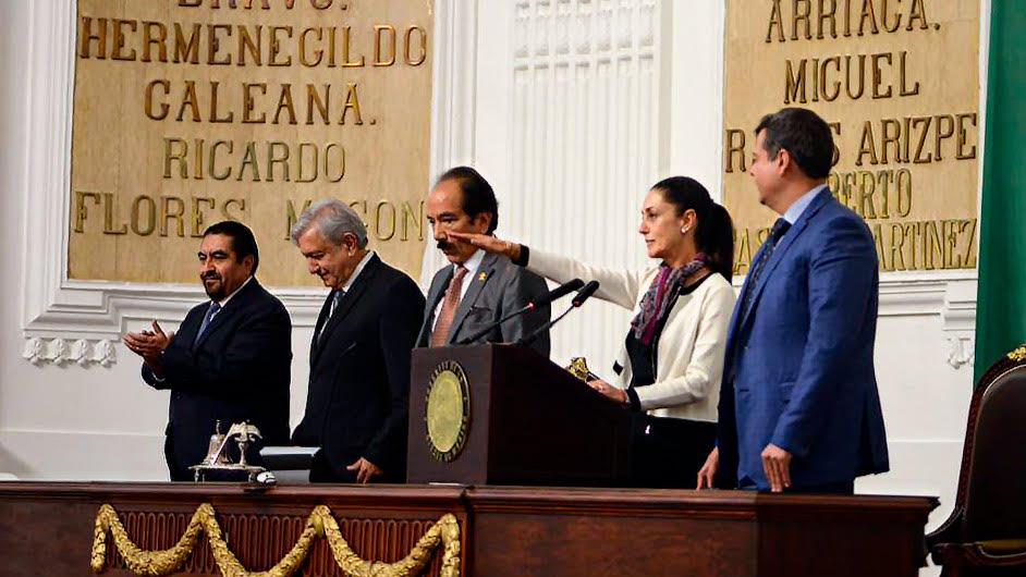 Claudia Sheinbaum ya es jefa de Gobierno de CDMX