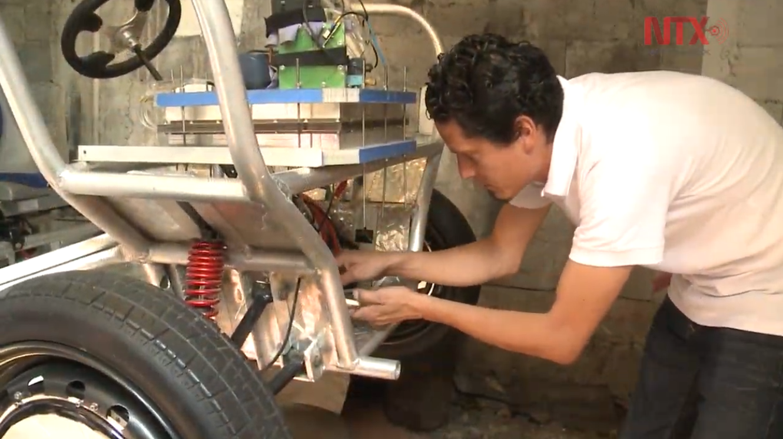 Este vehículo cero emisiones contaminantes fue creado por mexicanos