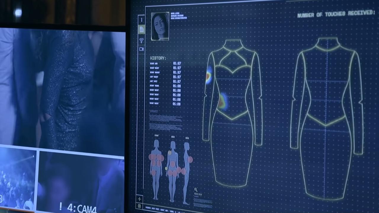 Este vestido detecta cuántas veces acosan a una mujer en una noche