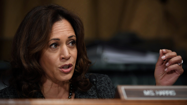 La demócrata Kamala Harris se postula a la carrera presidencial 2020